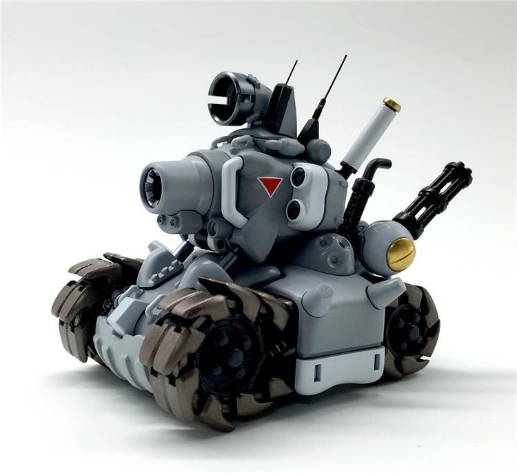 8cm Blue Metal Slug Assemble Tankette Collectors Action Figure Toys Christmas Gift Toy