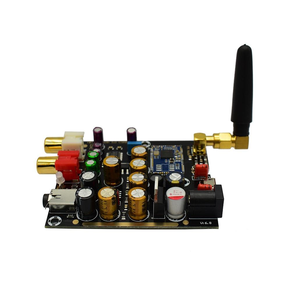 CSR8675 Bluetooth Receiver PCM5102A Decoding Module Board DAC Decoder w Antenna