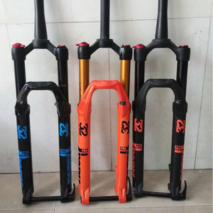 ELYON Magnesium Alloy MTB Bicycle Fork Supension Air 26 27.5 29er Inch Mountain 140mm Fork HL RL Control For Bicycle Accessories