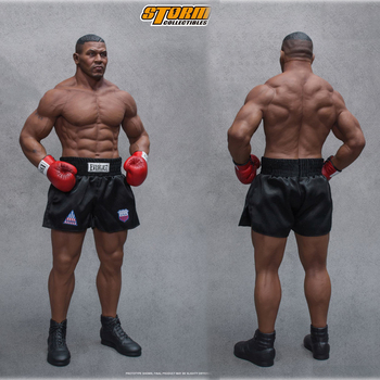 Collectible 1/4 Scale Box Champion Mike Tyson Mike Tyson Statue Gold Belt Full Set Action Figure for Fans Gifts collectible 1 12 scale full set thor ragnarok action figure doll figure weapon model for fans holiday gifts