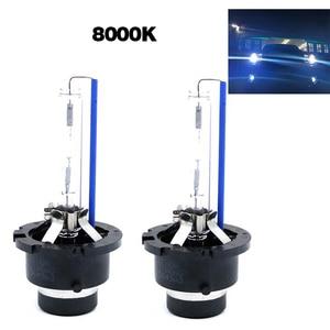 Image 2 - 2PCS D2S D2C D2R HID Car Headlight Bulb 4300K 6000K 8000K 12V Auto Fog Lights Lamp 12V HID Kit  Replace Halogen Lamp Bulbs