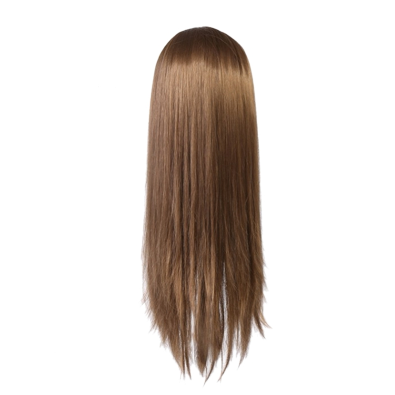 60Cm Hair Doll Styling Model Long Hair Practice Training Head Professional Salon Hair Styling Head
