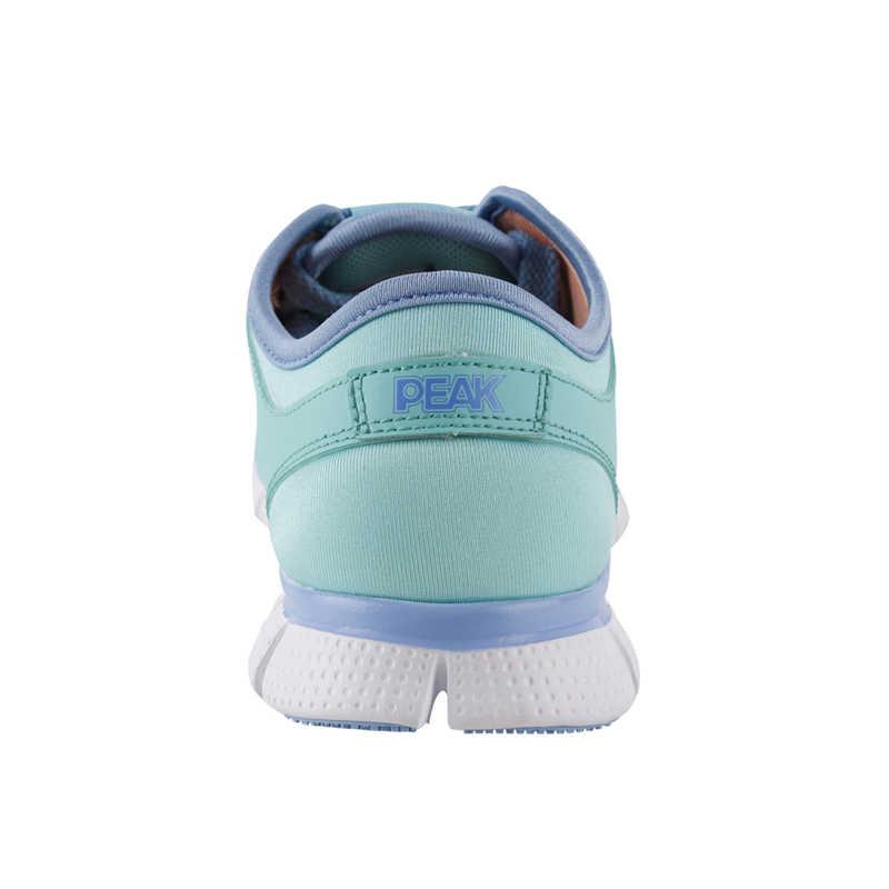 שיא נשים נעלי ריצה לנשימה אוויר רשת לביש רך קצף הסוליה הפנימית ריצה אימון ספורט נעלי כושר נעלי ספורט