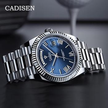 CADISEN Automatic Watch Men Sport Top Brand luxury Mechanical WristWatch Mens 2021 Stainless Steel Waterproof MIYOTA 8285 Clock 1