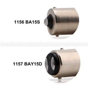 Image 4 - 2 Pcs 1156 BA15S 1157 BAY15D P21W 36 SMD 5050 LED Brake Side Turn Signal Lights Rear Backup Reverse White Bulbs DC 12V