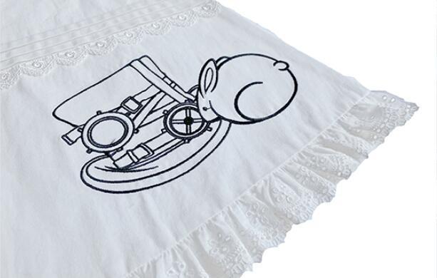 хлопковый милый фартук в стиле лолиты винтажный кружевной фартук фотография