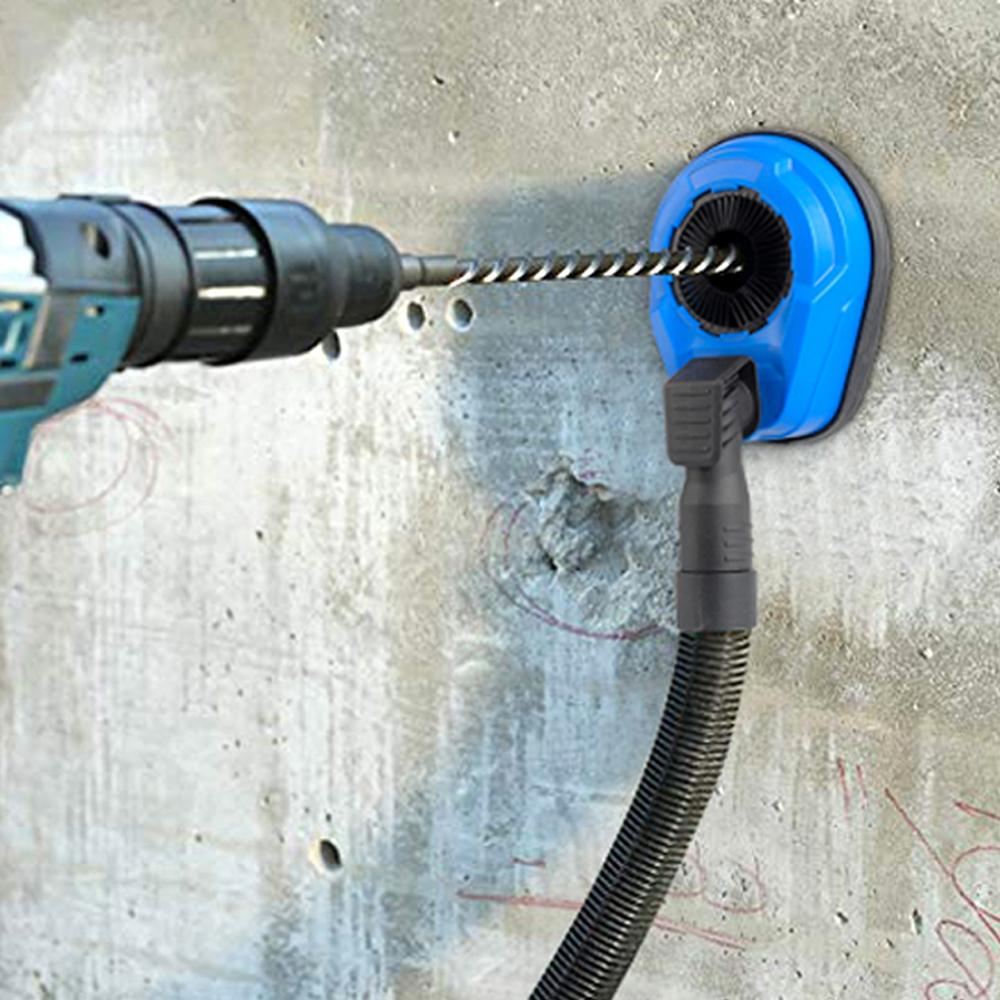 Electric Drill Hammer Drilling Dust Collector Angle Grinder Dust Shroud Cover Universal Dust Shroud For Drilling