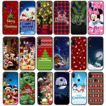 Mickey Minnie Mouse Merry Christmas Soft Case for Xiaomi Mi A1 A2 A3 8 9 Se Lite 9T Pro Mi A3 Max 3 Mia1 Mia2 MiA3 Pocophone F1(China)