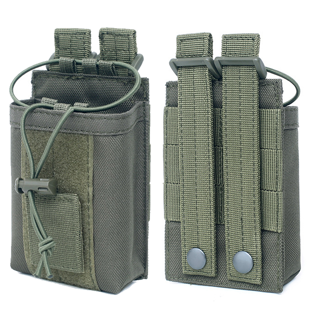 Radio Pouch Waist Police Tactical Carrying Case Portable Outdoor Sports Waterproof Package Hunting Walkie Talkie Bag Military