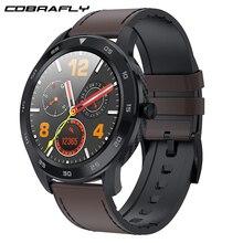Cobrafly DT98 ساعة ذكية الرجال IP68 مقاوم للماء بلوتوث دعوة PPG معدل ضربات القلب مراقبة ضغط الدم Smartwatch لهواوي شاومي