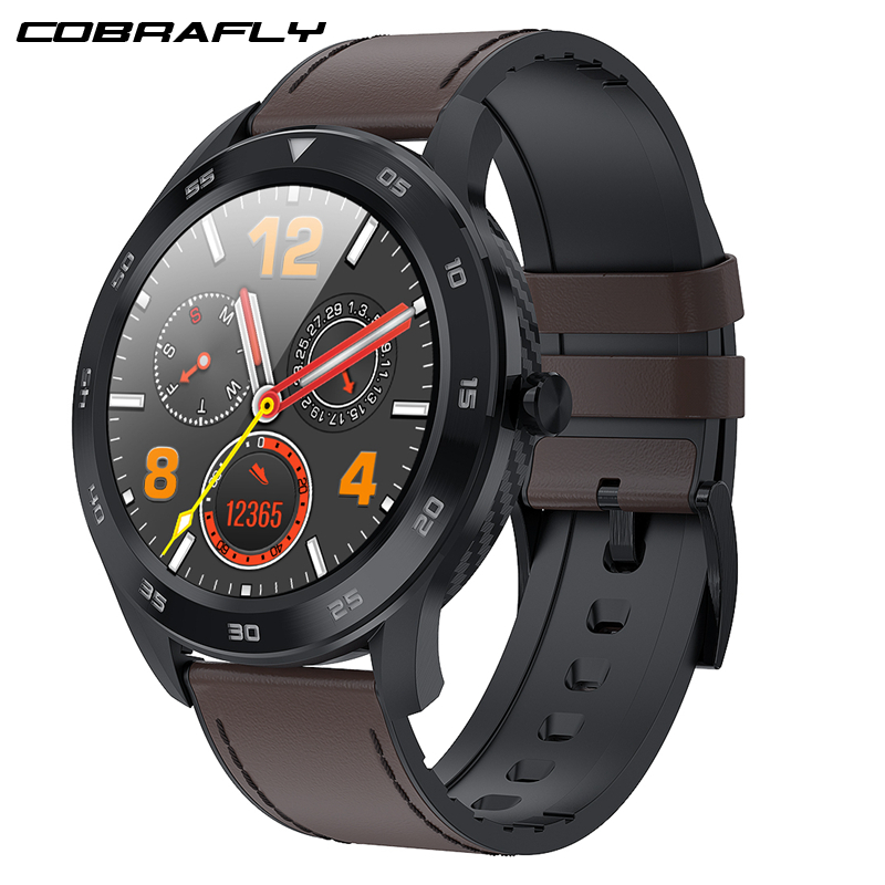 Cobrafly DT98 Smart Watch Men IP68 Waterproof Bluetooth Call PPG Heart Rate Blood Pressure Monitor Smartwatch For Huawei Xiaomi