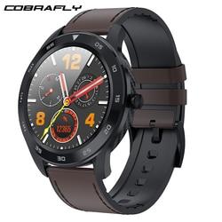 Cobrafly DT98 inteligentny zegarek mężczyźni IP68 wodoodporny Bluetooth zadzwoń PPG tętno monitor ciśnienia krwi Smartwatch dla huawei xiaomi w Inteligentne zegarki od Elektronika użytkowa na