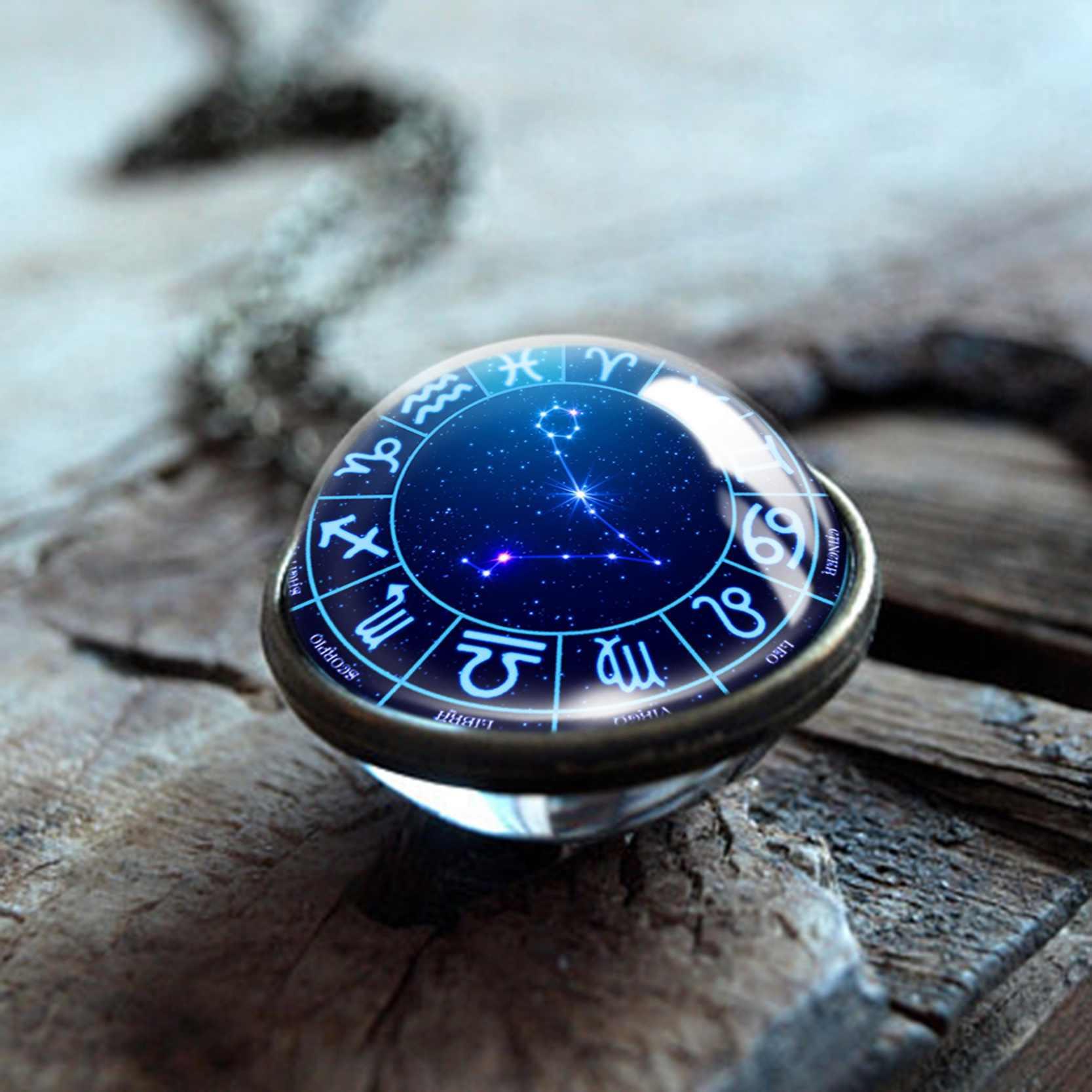 12 คู่จี้สร้อยคอ LEO Virgo Taurus Gemini สร้อยคอราศีพิจิก 12 Constellations ผู้ชายผู้หญิงเครื่องประดับ