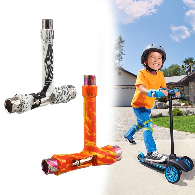 Skate Longboard Necessity T Skiing Tools Roller Skate Multi-Function Children Styling Patterned DIY