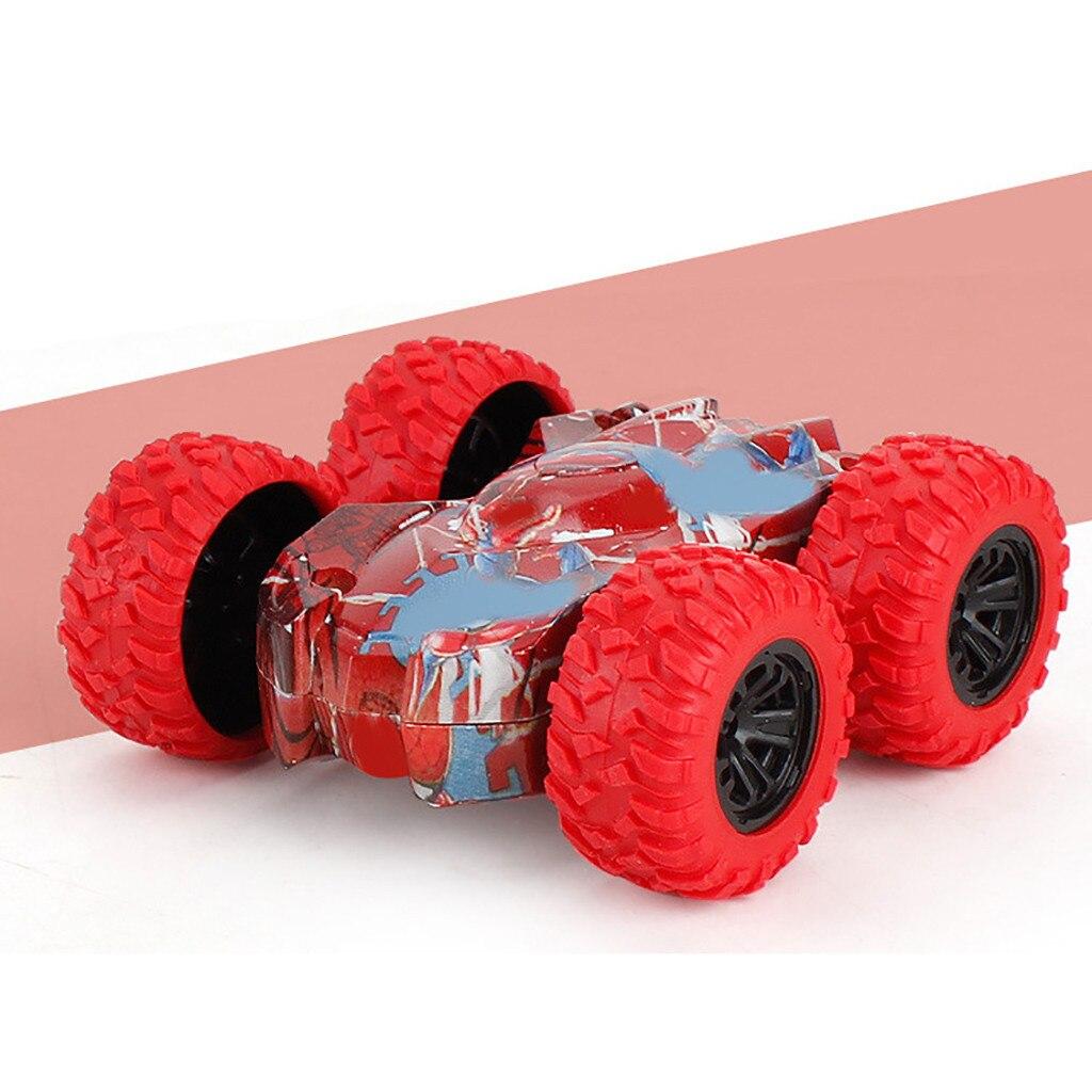 Детский автомобиль, игрушечный грузовик, внедорожник, модель автомобиля, детская игрушка, подарок, инерционная Двусторонняя трюковая машин...