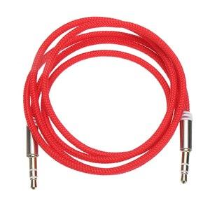 Image 2 - Conector de Audio macho a macho para coche de alta calidad 1M Cable auxiliar 3,5 Mm Cables de Audio macho a macho para auriculares MP3