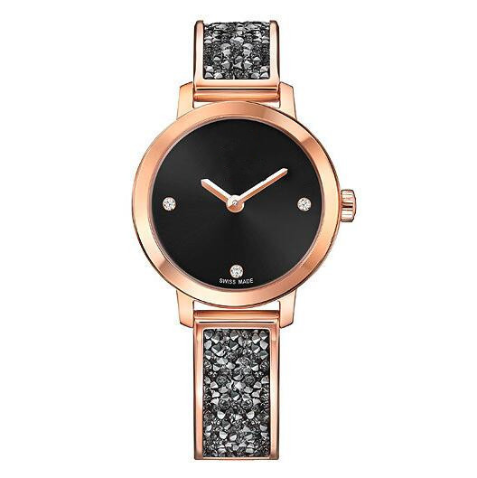 Reloj Mujer 2019 Fashion Watches Leather Stainless Men Women SA44 Analog Quartz Wrist Watch Womens Watches Top Brand Luxury