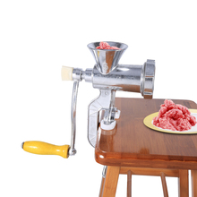 Meat Grinder Aluminium Alloy Hand Operate Manual Meat Grinders Sausage Beef Mincer Table Kitchen Home Tool For Restaurant meat grinder high quality stainless steel manual mini meat grinder mincer table hand crank tool for kitchen 8 zf