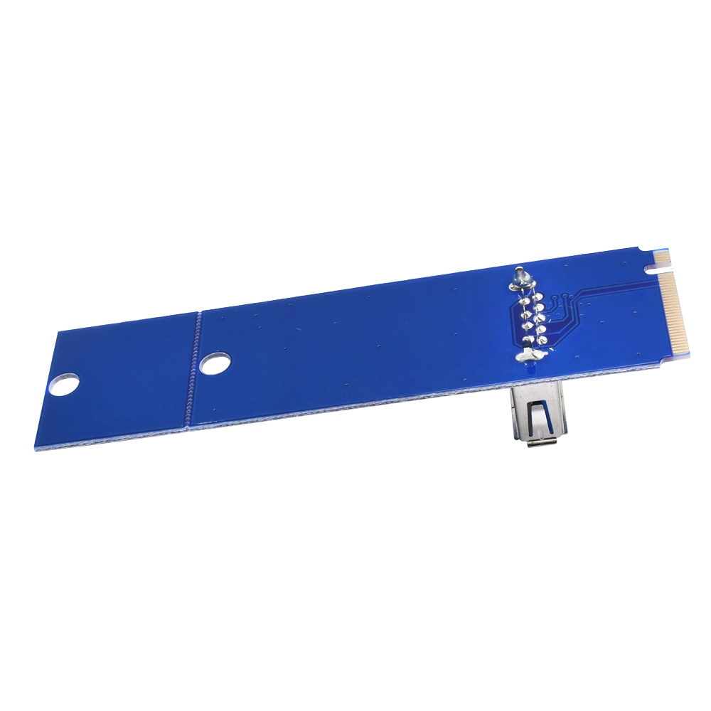 10Pcs TISHRIC NGFF M.2 To USB 3.0 Transfer Card PCIE Riser Card Key Motherboard Extender Adapter For BTC ETH Miner Mining 2