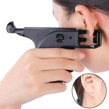 Piercing-Tool Professional Double-Pistol Ear Plug Body-Jewelry Safety-Ear No-Pain