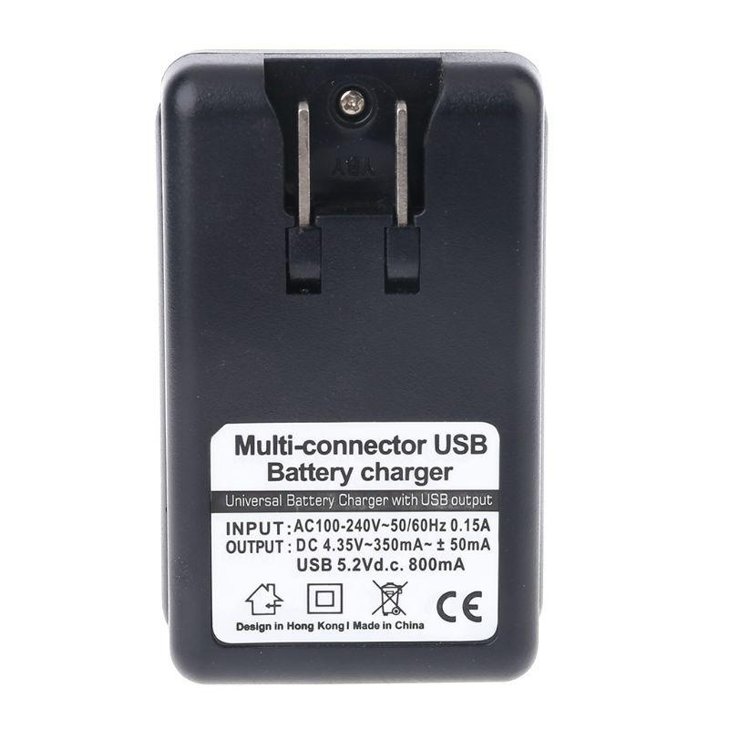 US Sincronizzazione Della Culla del bacino AC Batteria Home Caricatore Della Parete del USB Per <font><b>Nokia</b></font> 4C 5C 6C BL-5B