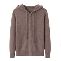 Knitted Women Hoodies Oversize Zipper and Pullover Casual Couple Hoodie Pornhub Solid Color Sudadera Mujer Kpop Clothes XX60HW