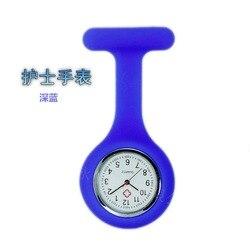 AliExpress gorący sprzedawanie zegarek żel krzemionkowy przyjazny dla środowiska zegarek NURSE'S zastosowanie medyczne zawód studenci noc lekka skrzynia na