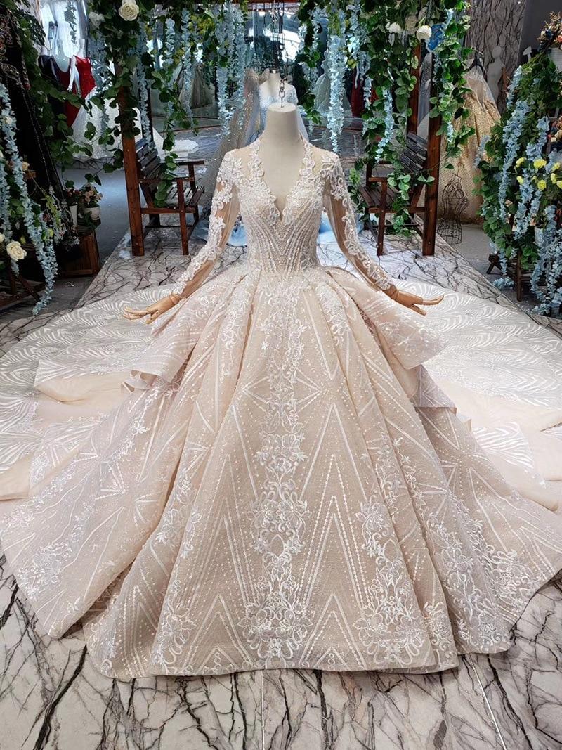 2020 Summer New Sexy Backless Simple Lace Korean Bride Wedding Dress Luxury Custom Made