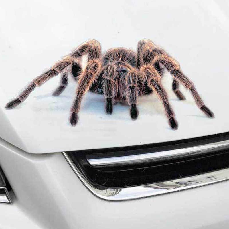 3D 車のステッカー動物クモサソリヤモリビニールデカールのためのジープ Renegade チェロキーラングラーコンパスパトリオットサンタフェ i20 i30