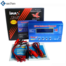 IMAX B6 80W 6A Battery Charger Lipo NiMh Li-ion Ni-Cd Digital RC IMAX B6 Lipro Balance Charger Discharger цена в Москве и Питере