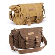Купить Waterproof Canvas Camera Shoulder Bag Sling Photo Video Soft Bag Pack Travel Camera Protective Cases for DSLR Canon Nikon Sony в интернет-магазине дешево