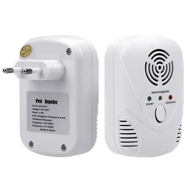 HILIFE  EU/US Plug Cockroach Trap Mouse Killer 110-240V/5W Electronic Ultrasonic Pest Control Repeller 3