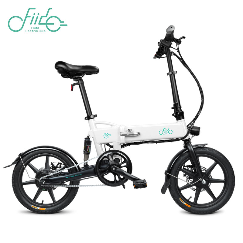 FIIDO D2 Electric Bicycle Smart Folding Bike...