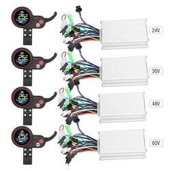 Chuyển Đổi Phụ Kiện Đa Năng Xe Tay Ga Bảng Điều Khiển Màn Hình LCD Hiển Thị 24V 36V 48V 60V 250W 350W xe Đạp Điện Điều Khiển Các Bộ Phận Điều Khiển
