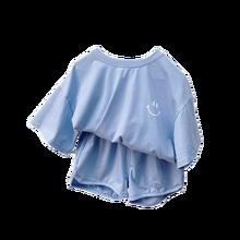 2021 новый комплект одежды для маленьких мальчиков, летняя одежда для девочек Одежда для детей, одежда для мальчиков, Хлопковая пижама, Детски...