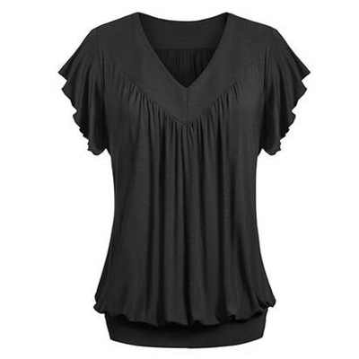 Shirt Round Neck Summer Tops For Women 2018