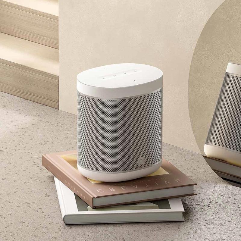 Xiaomi Mi Speaker Art AI Smart Google Assistant & Chromecast bluetooth Wireless Speaker LED Light Stereo Subwoofer 4