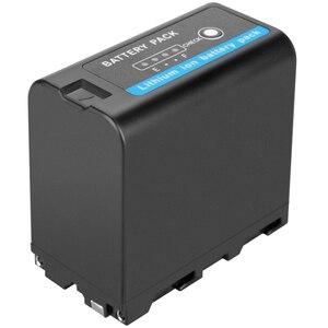 Image 4 - Аккумулятор с ЖК дисплеем и сверхбыстрой зарядкой для SONY F930 F950 F770 F570 CCD, 7800 мАч