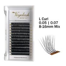 Viplash L curl, накладные ресницы, корейские, PBT, шелковые, русский объем, норковые ресницы для красоты, принадлежности для макияжа