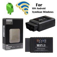 Car Scanner ELM 327 V1.5 obd2 WIFI car fault detection instrument Auto diagnostic tool for formini Cooper PC IOS Android Symbian konnwei kw902 wifi odbii car diagnostic scanner tool fault detection for ios android 2018