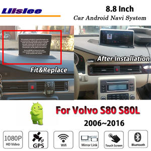 Liislee Mirror Link Multimedia Navi-Navigation-System S80L Car Android Radio Stereo 2006