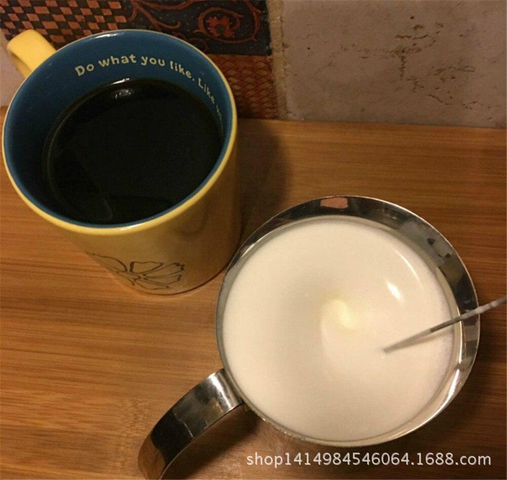 H61554f1311c64d3ba52f1ebaf941b96e3 Handheld Electric Stir Stick Blender Milk Frother Foamer Stiring Whisk Head Agitator Mixer Kitchen Coffee Stirrer Maker Tool