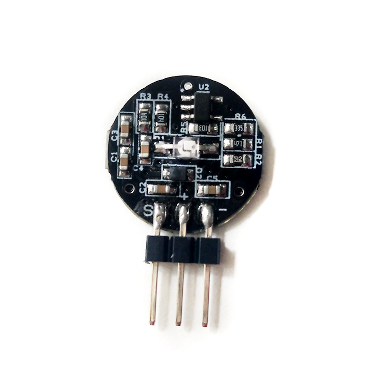 PulseSensor ECG Heart Rate HRV Photoelectric Sensor Module Open Source Kit