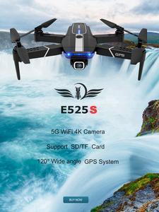 FEMA Gps-Drone Quadcopter Angle-Camera Follow E520S FPV Wifi Foldable E525 Mini