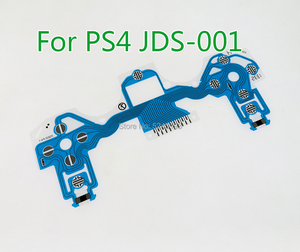 Image 2 - For PS4 Slim pro Controller Conductive Film Keypad flex Cable JDS 001 011 030 040 050 Replacement Button Ribbon Circuit Board