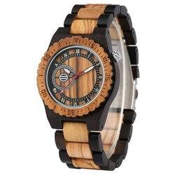 Naturalnie drewniane męskie zegarki kwarcowe męskie zegarki drewniane zegarki Casual męski zegar drewniany cyfry rzymskie okrągła tarcza mężczyzna zegarek