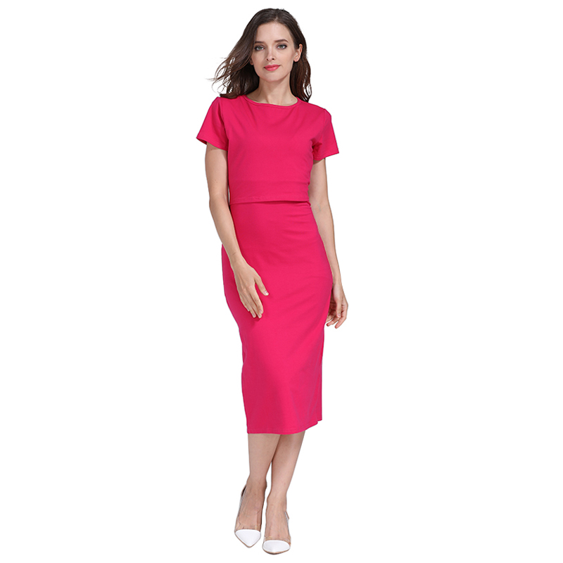 Image 4 - Emotion Moms Party maternity clothes maternity dresses pregnancy clothes for Pregnant Women nursing dress Breastfeeding Dressesclothes wholesaledress with back zipclothes cleaning -