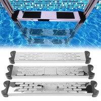 ステンレス鋼スイミングプールペダル交換はしごラングステップアンチスリップアクセサリームー