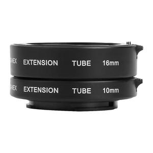 Image 1 - Professionele Macro Extension Tube Kit Metal Autofocus Set 10mm 16mm Lenzen Accessoires voor Sony NEX E Mount camera