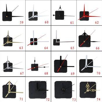 New DIY Quartz Clock Movement Mechanism Hands Wall Repair Tools Parts Silent Kit 27 Types